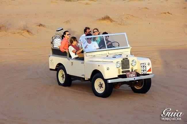 4x4 no safari no deserto em dubai