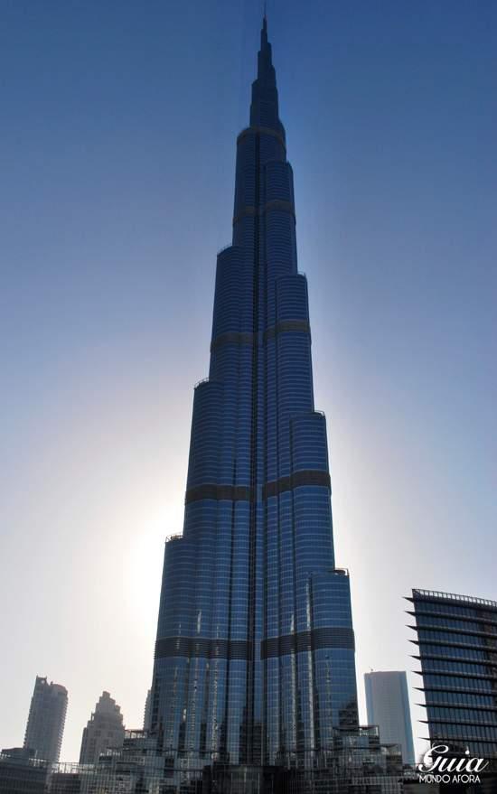 Burj Khalifa Dubai pontos turísticos de dubai