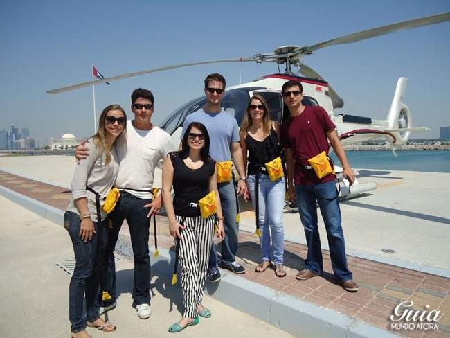 Tour de Helicóptero Abu Dhabi