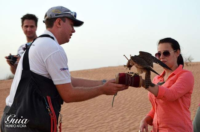 Safari no Deserto em Dubai