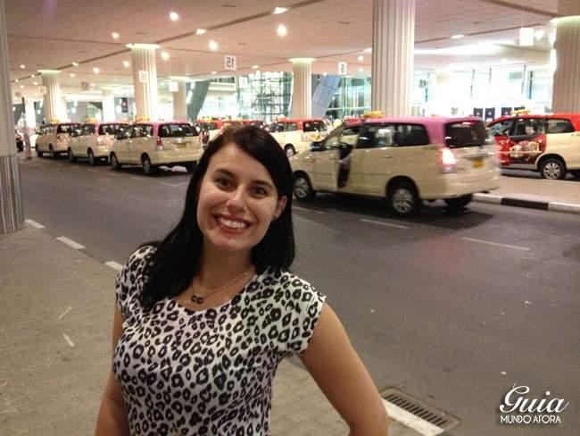 Táxi rosa Dubai