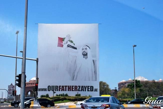 Banner Sheik Zayed Abu Dhabi