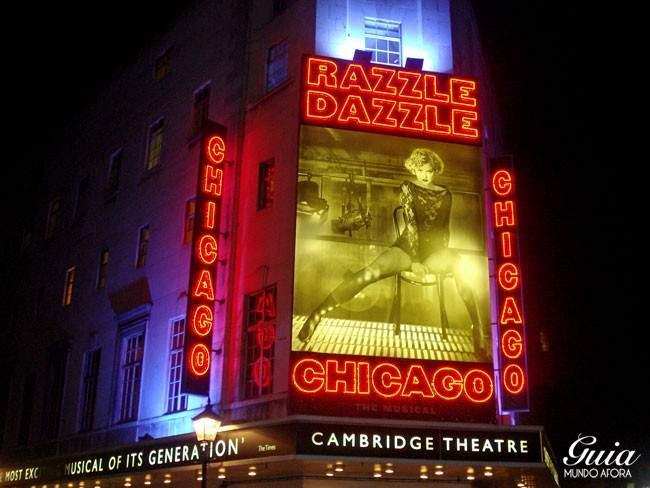 Musical Chicago em Londres
