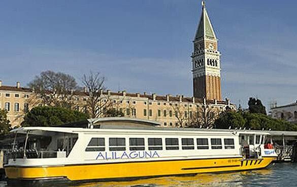 Como chegar em Veneza de barco, trem ou ônibus
