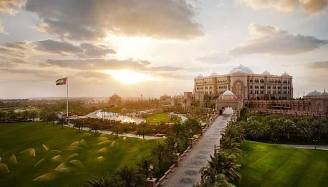 Indicação de hotel em Abu Dhabi Emirates Palace