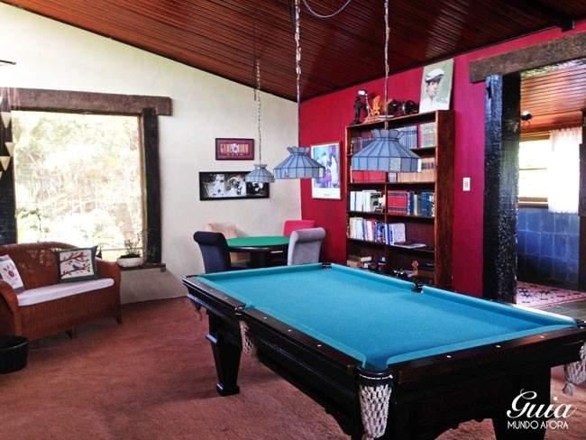 salao-jogos-casa-colina-650x488 Indicação de hotel em Visconde de Mauá: Casa da Colina