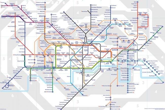 mapa-metro-londres-650x434 Metrô em Londres: dicas para economizar
