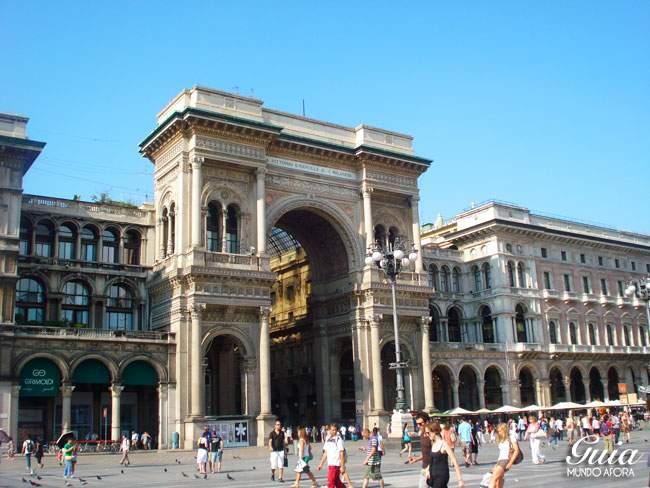 Galeria Vittorio Emanuelle II em Milão