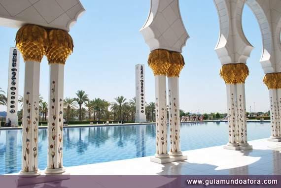 Mesquita Branca, Abu Dhabi
