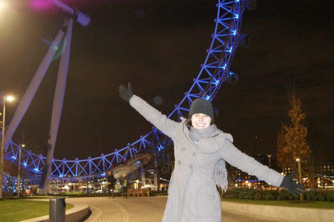 London eye no inverno
