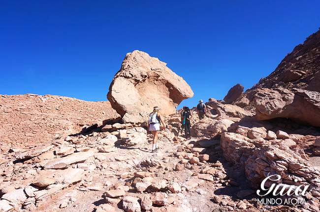 Trekking em Cuchabrache, no deserto do Atacama