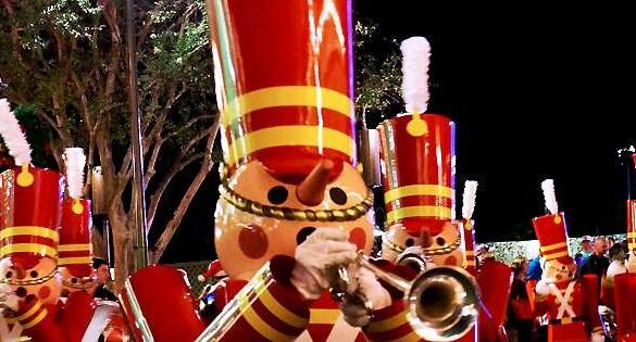 Como é a festa de natal da Disney no Magic Kingdom