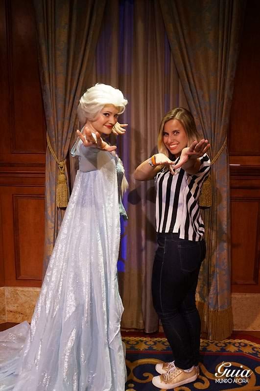 Eu e Elsa congelando vocês ;)