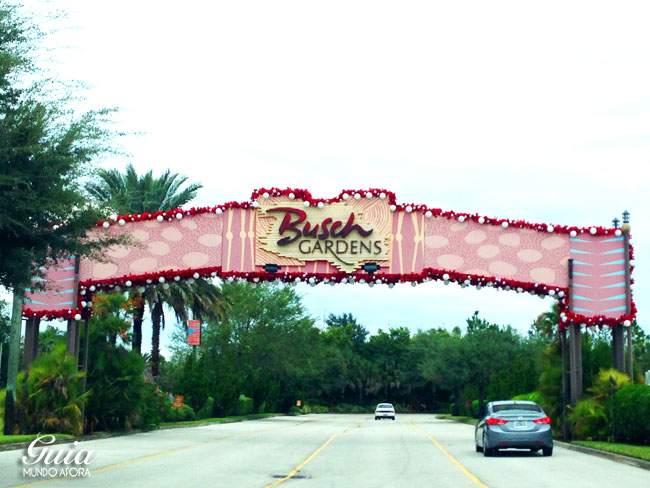 portal-entrada-busch-gardens Tudo sobre o Busch Gardens em Tampa