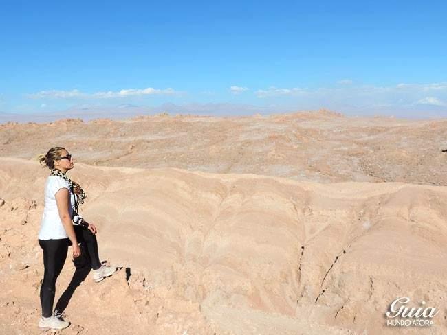 Visual Valle de la Luna Atacama Chile