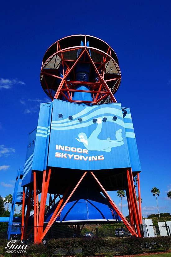 Simulador de paraquedas Orlando