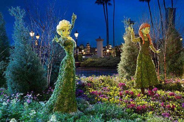 Flower and Garden Festival no Epcot: começou em 2016