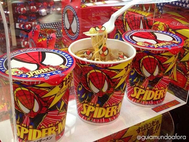 cup-noodles-spider-650x488 Como é a Universal Osaka no Japão - ingressos e dicas!