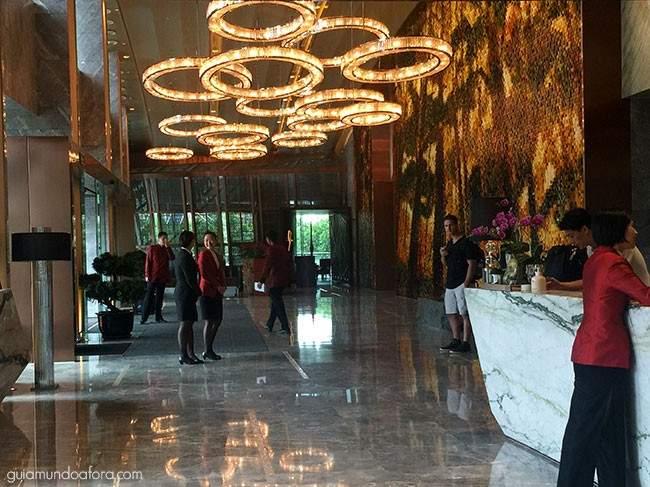 Hotel em Xangai Mandarin Oriental