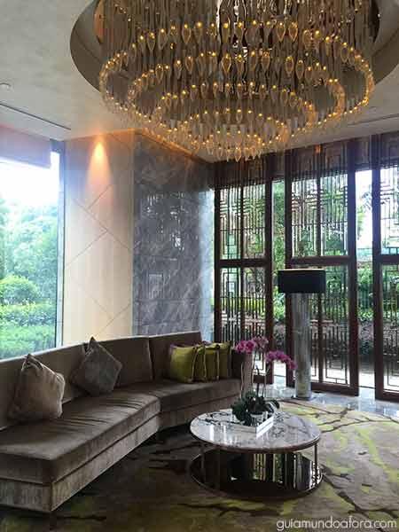 Recepção Mandarin Oriental Xangai