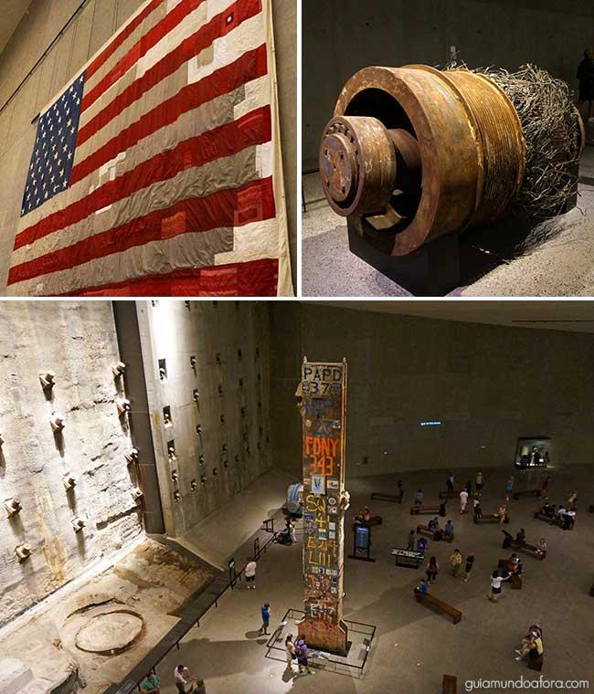 Destroços no Museu 11 de Setembro