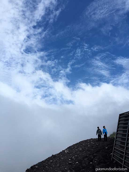 Trilha Monte Fuji Japão