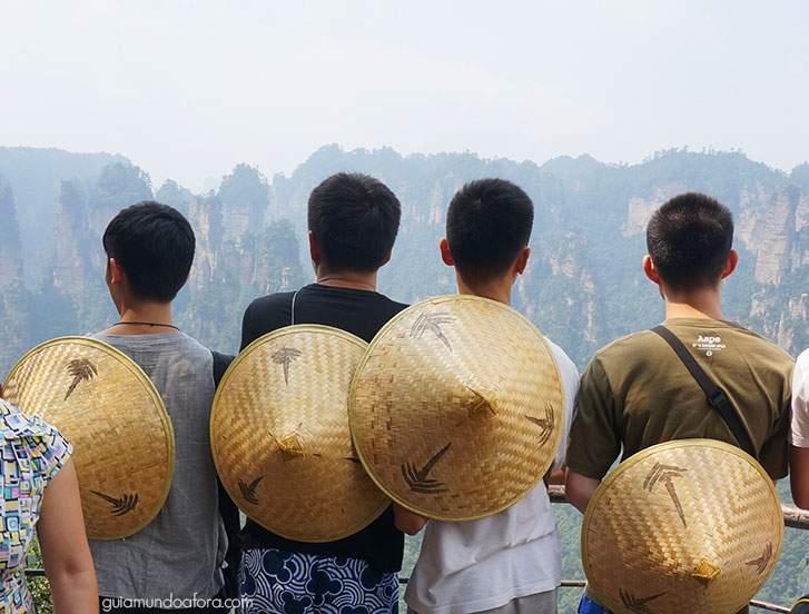 chineses Zhangjiajie: um dos lugares mais SENSACIONAIS da China!