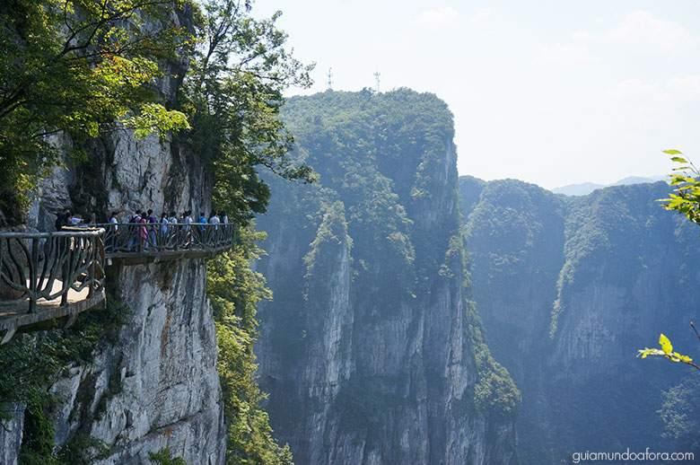 montanha-tianmen Zhangjiajie: um dos lugares mais SENSACIONAIS da China!