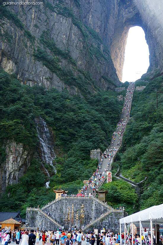 zhangjiajie-china-montanha Zhangjiajie: um dos lugares mais SENSACIONAIS da China!