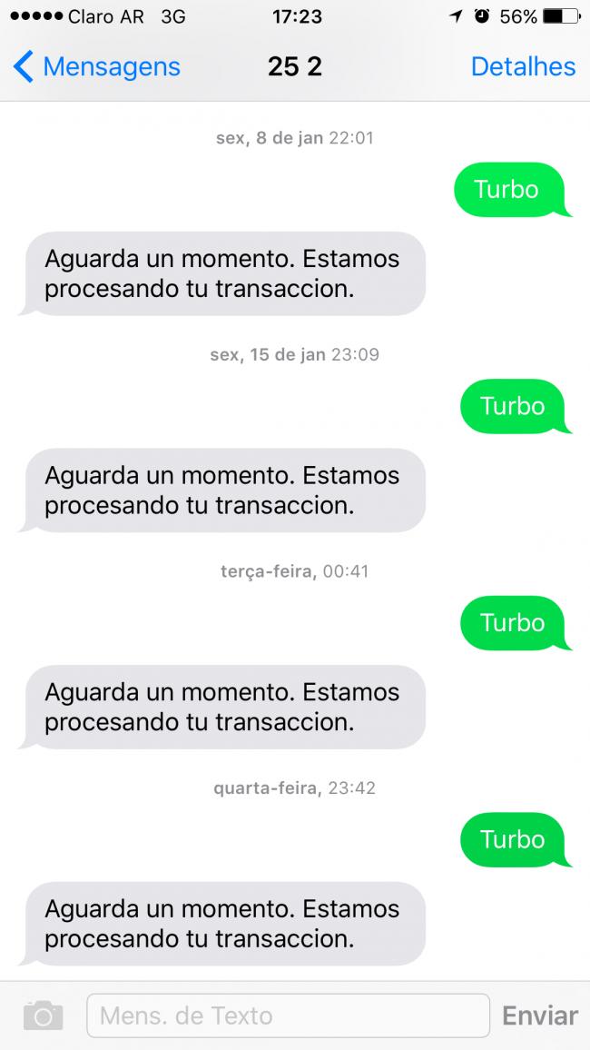 chip 3g na Argentina