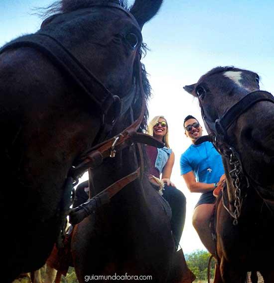Cavalgada em Mendoza
