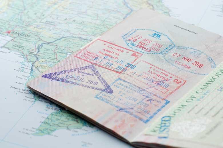 serviço de visto da China