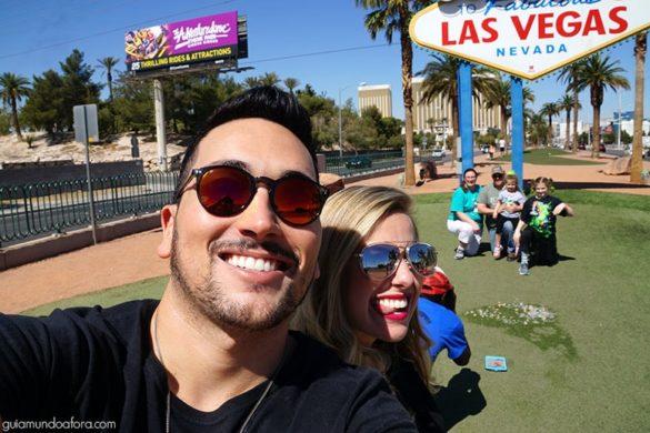 Como tirar fotos em Las Vegas sign!