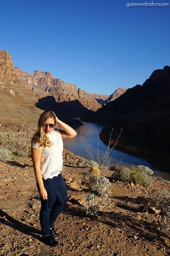 Helicóptero no Grand Canyon