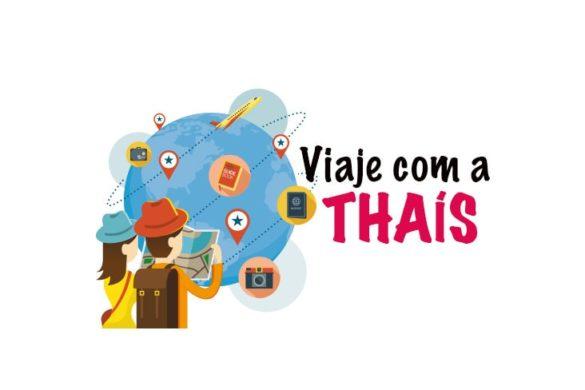 Viaje com a Thais: serviços de viagem