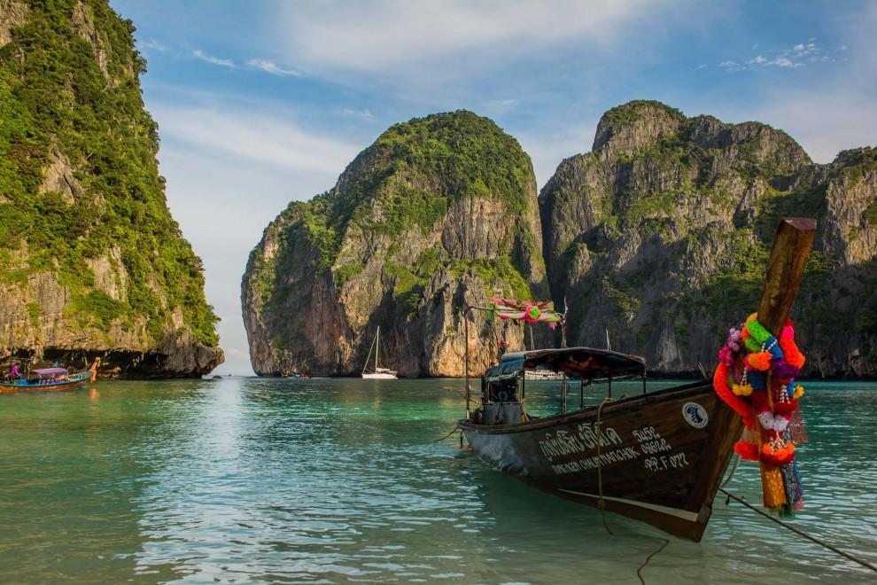 Maya Bay na Tailándia, Ásia