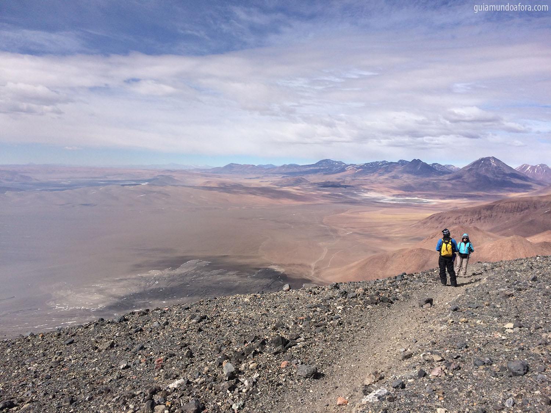 Lascar vista Atacama