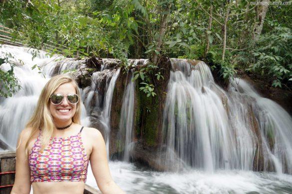 Estância Mimosa: cavalgada e cachoeiras em Bonito