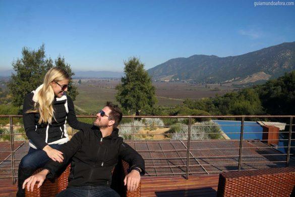 Hotel em vinícola no Chile: Lapostolle Residence