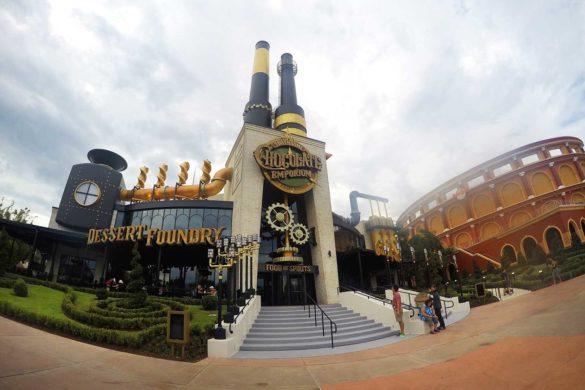 Restaurante da Fábrica de Chocolates na Universal: Eu fui!