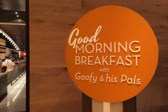 Café da manhã no Four Seasons Orlando: coma com o Pateta!