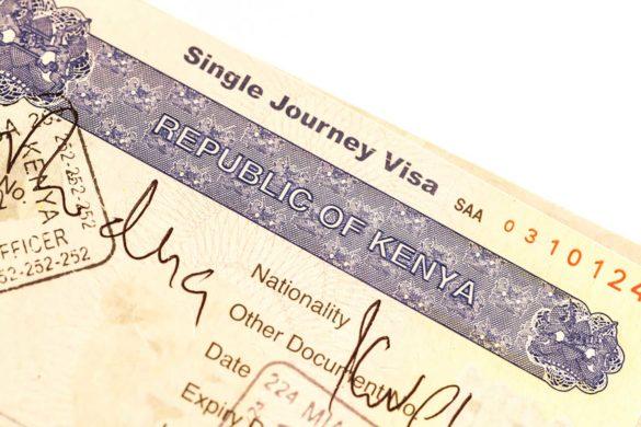 Como tirar o visto para o Quênia na África?