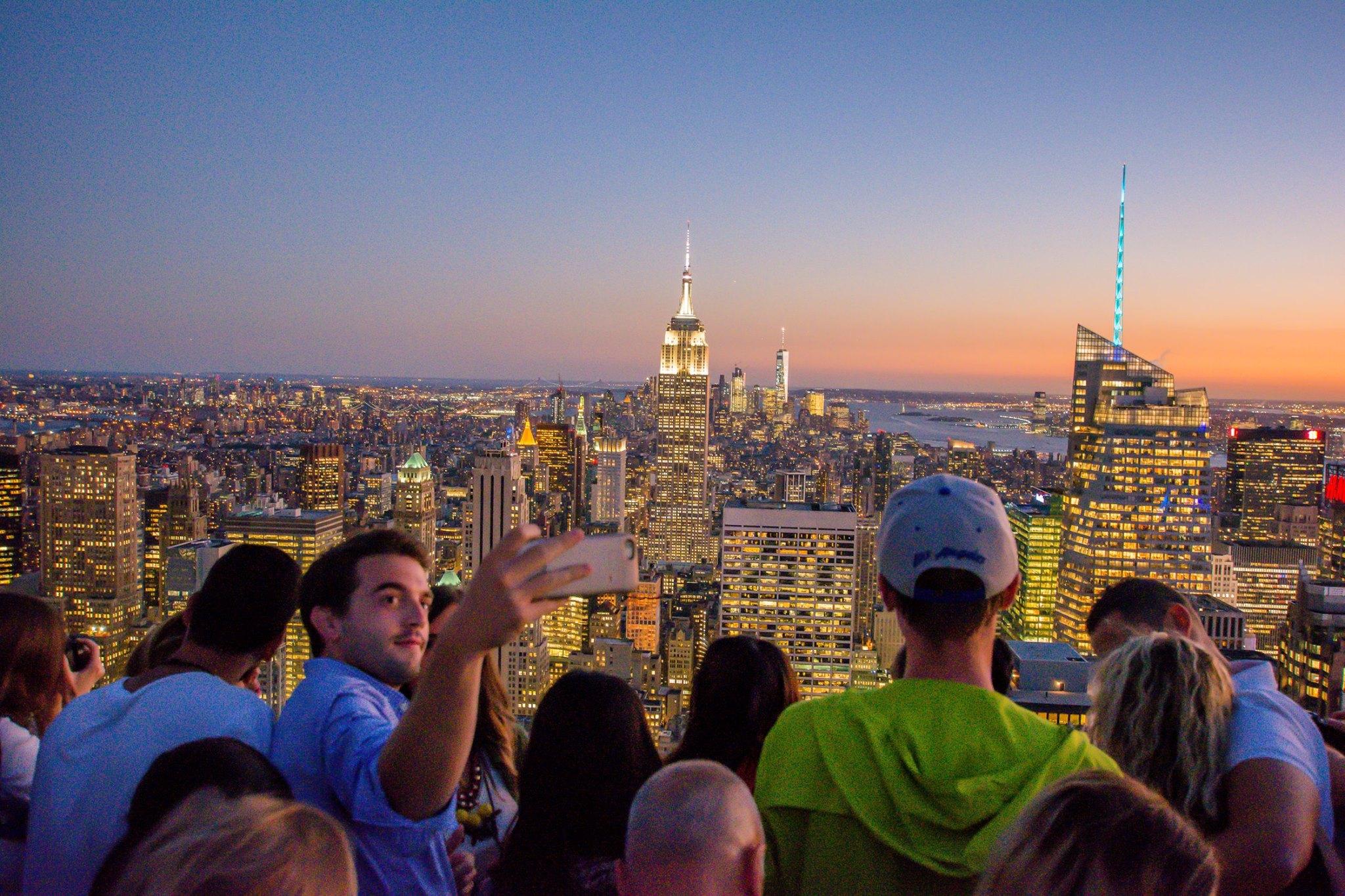 top of the rock com CityPASS em Nova York