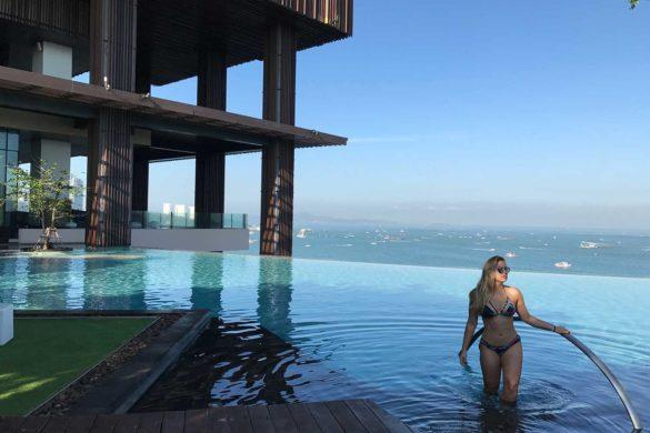 Hilton Pattaya e a vista mais bonita da cidade!