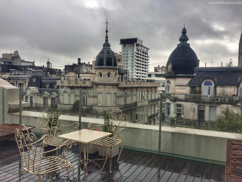 Terraço delícia do Tango de Mayo Hotel