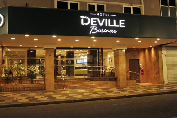Deville Business –  hotel no centro de Curitiba