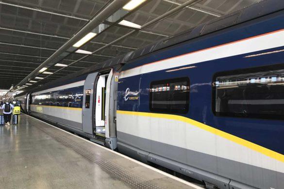 Trem de Paris a Londres – o famoso trajeto com a Eurostar