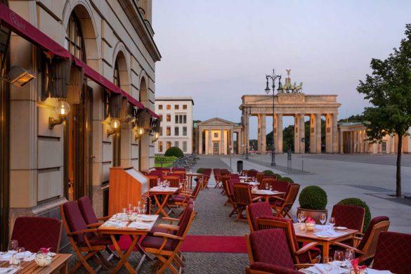 Restaurante em Berlim com vista: Quarré, no famoso Adlon Kempinski