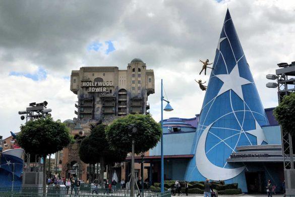 Roteiro de atrações da Disneyland Paris, antiga EuroDisney