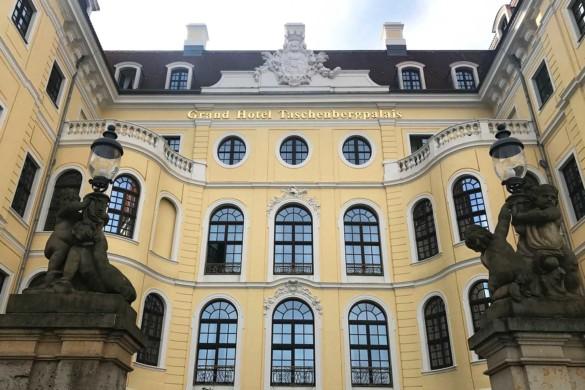Dormindo em um palácio – o luxuoso hotel em Dresden Kempinski